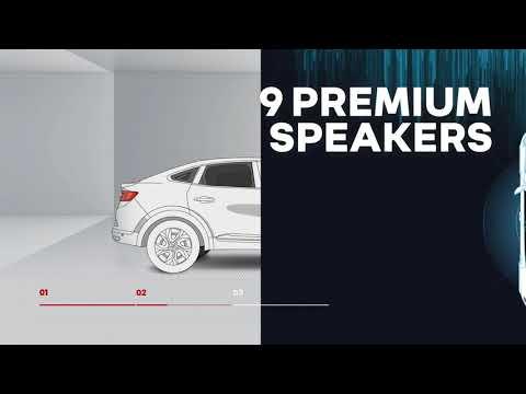 Nya Renault Arkana - Bose ljudsystem