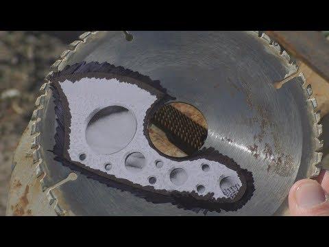 EDC ТОПОР из пильного диска photo