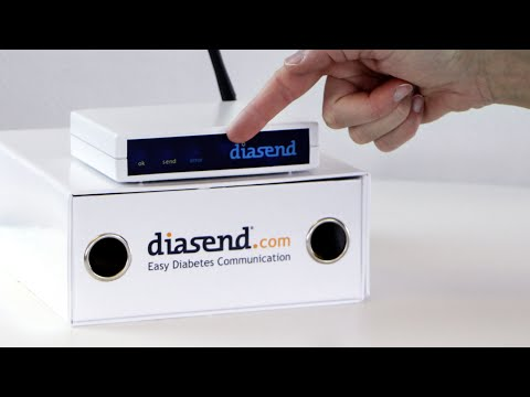 diasend® Clinic - Uploading device using infrared technology