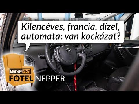 Fotelnepper: Kilencéves, francia, dízel, automata, van kockázat?
