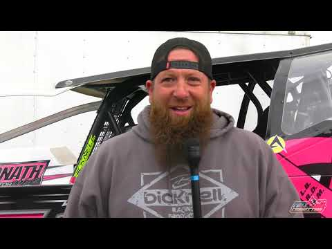 10-9-21 Interview with Dalton Rombough, Mike Fowler, and Dave Rogers at Oswego Speedway. - dirt track racing video image
