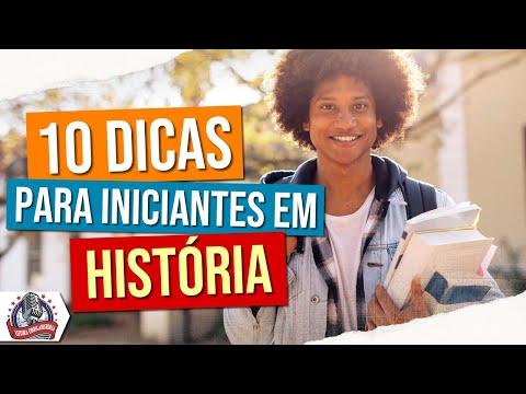 10 dicas para iniciantes em História