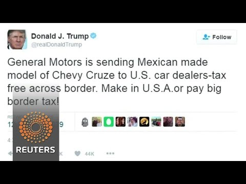 Trump assails GM over Mexico production, Ford cancels proposed Mexican plant
