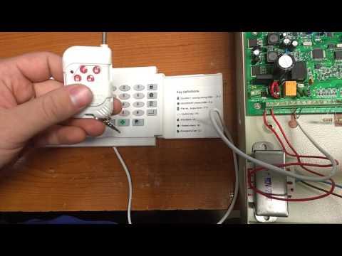 Programacion control remoto panel de alarma Zuden 16CA8