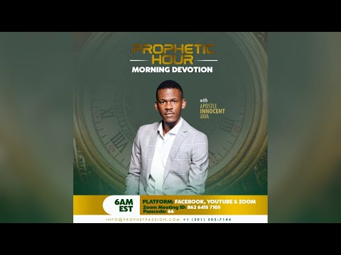 4 Things to Master when you receive a Prophetic Word-Part2 with Apostle Innocent Java