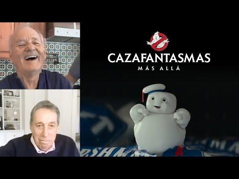 BILL MURRAY reacciona a un clip de CAZAFANTASMAS MÁS ALLÁ   Próximamente en cines