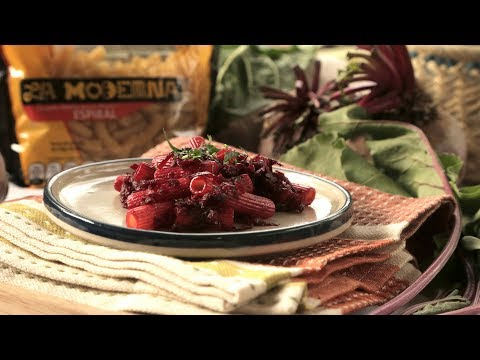 Pasta con betabel - COCINA CON CONEXIÓN - Sonia Ortiz con Juan Farré - UCvg_5WAbGznrT5qMZjaXFGA