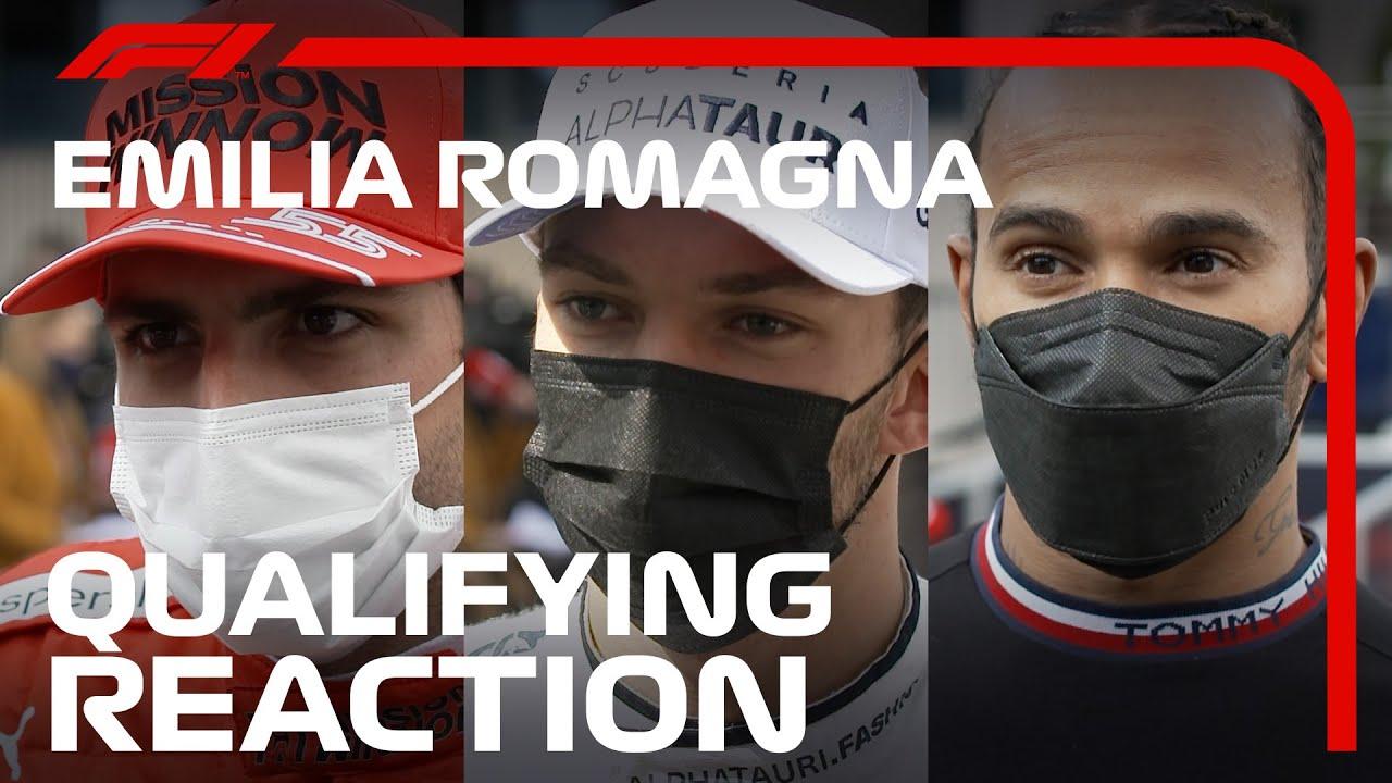 Drivers React After Crazy Close Qualifying   2021 Emilia Romagna Grand Prix