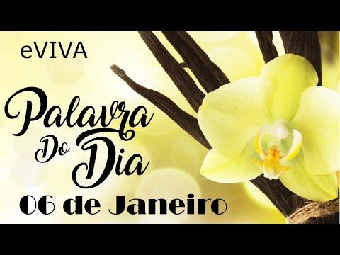 PALAVRA DE DEUS PARA HOJE 06 DE JANEIRO eVIVA MENSAGEM MOTIVACIONAL PARA REFLEXÃO DE VIDA