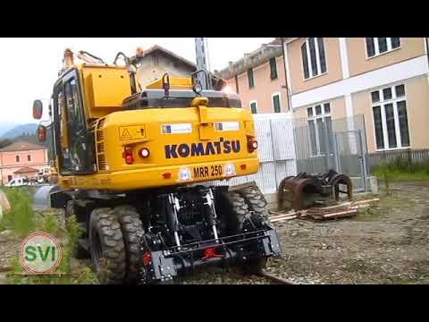 Escavatore strada- rotaia MRR 250