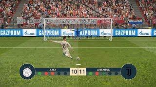 AJAX vs JUVENTUS   UEFA Champions League - UCL   Penalty Shootout   PES19
