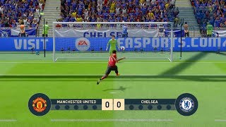 MANCHESTER UNITED vs Chelsea - FA Cup - Penalty Shootout   FIFA19