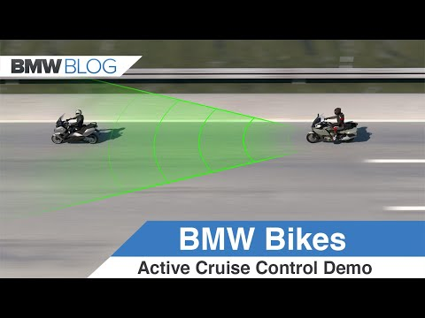 BMW Motorrad Introduces Active Cruise Control