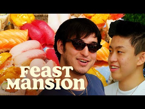 Feast Mansion S1: E#4 - Joji and Rich Brian Learn How to Make Sushi | Feast Mansion