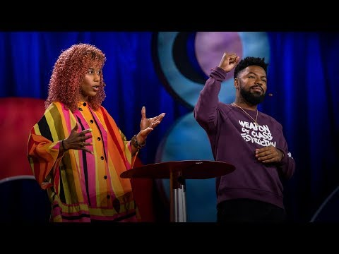 A love story about the power of art as organizing | Aja Monet and phillip agnew