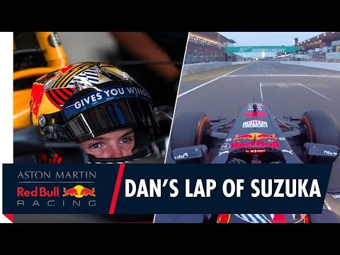Dan Ticktum takes the RB7 for a lap around Suzuka