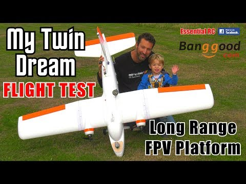 """My Twin Dream"" MTD FPV 1.8m RC Airplane (LONG RANGE FPV PLATFORM): ESSENTIAL RC FLIGHT TEST - UChL7uuTTz_qcgDmeVg-dxiQ"