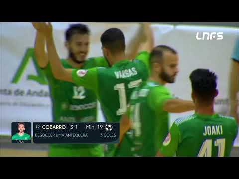 BeSoccer UMA Antequera - Burela FS Jornada 31 Temp 20 21