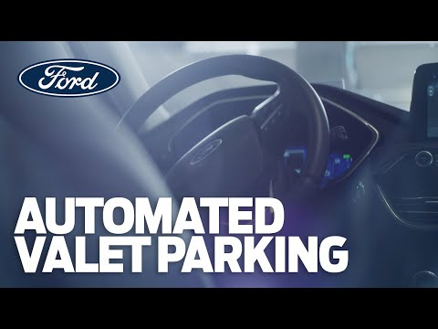 Automated Valet takes parking to the next level