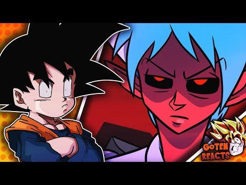 Goten Reacts To DEMON BULMA, Dragon Ball Parody (?)