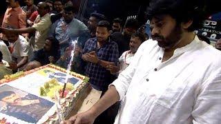 Pawan Kalyan Cake Cutting at Chiranjeevi Birthday Celebrations 2019   Ispark Media