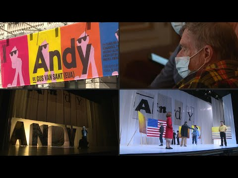 Director Gus Van Sant dabbles in theatre with Andy Warhol musical in Lisbon   AFP
