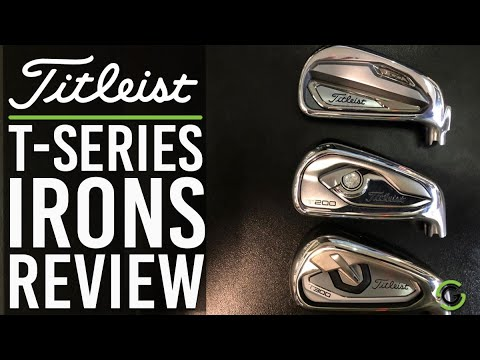 TITLEIST T SERIES IRONS REVIEW