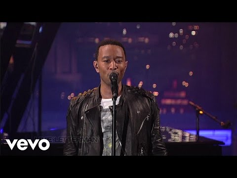 John Legend - The Beginning... (Live on Letterman) - UCNnnwVSI5Ndo2I4Y-LPuuew