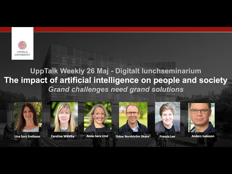 UppTalk Weekly: The impact of artificial intelligence on people and society
