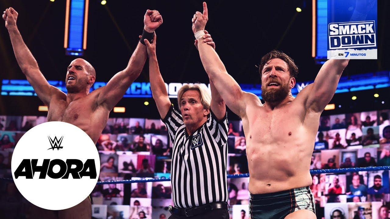REVIVE SmackDown en 7 minutos: WWE Ahora, Abr 23, 2021