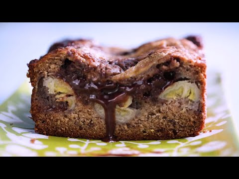 How to Make the Perfect Nutella Stuffed Banana Bread   Tastemade