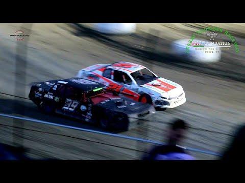 Desert Thunder Raceway IMCA Stock Car Main Event 7/23/21 - dirt track racing video image