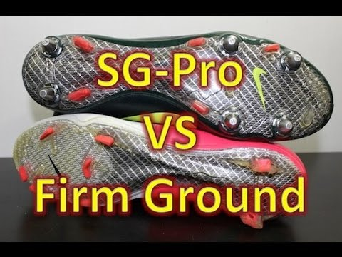 Video Nike SG-Pro VS Firm Ground Stud Pattern (Nike Mercurial Vapor VIII) - c63c34ae82bbf