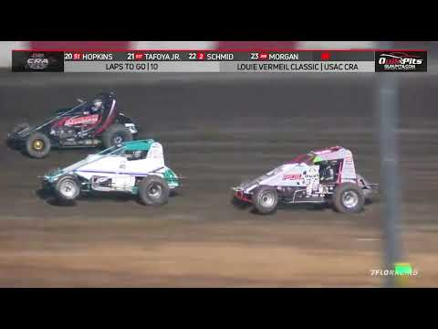 USAC CRA Sprint Highlights   Silver Dollar Speedway   Louie Vermeil Classic Night #1   9/4/2021 - dirt track racing video image