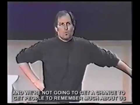 Best marketing strategy ever! Steve Jobs Think different / Crazy ones speech (with real subtitles) - UCJXgBLh6qbGFTo-2E9YQa5Q