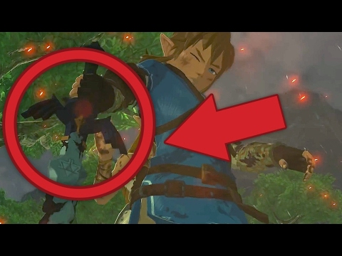 The Legend of Zelda: Breath of the Wild Release Trailer - Easter Eggs, Secrets and Gameplay Analysis