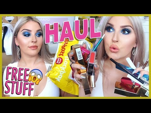 HUGE UNBOXING HAUL! ?Opening 35+ NEW Beauty Packages
