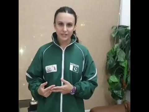 Badminton Star Palwasha Bashir Thinking About The Prosperity Of Pakistan