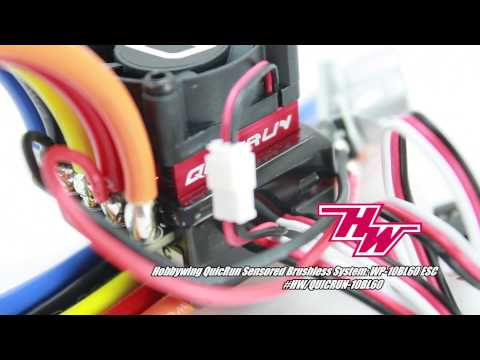 Hobbywing Quicrun ESC, Motor And Program Card For RC Cars - UCflWqtsSSiouOGhUabhKTYA