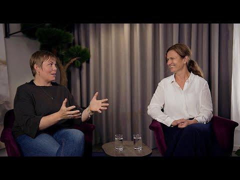 Kajsa Boström och Åsa Mossberg i samtal om synen på risk i företag efter Covid 19.