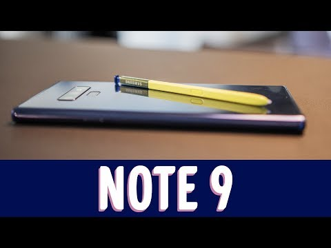 Note 9 - First Impression