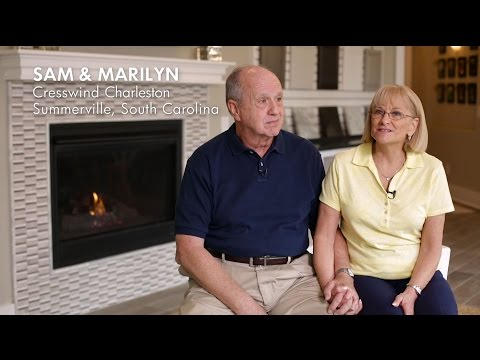 Cresswind at Charleston Residents Sam and Marilyn describe customizing their new home
