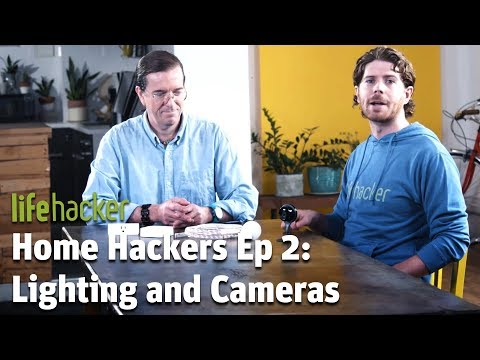 How to Set Up Smart Lighting and Security Cameras