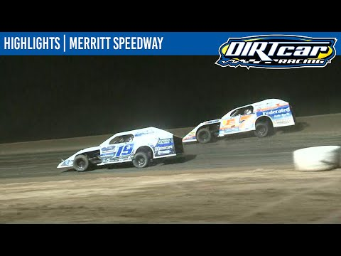 DIRTcar Summer Nationals Modifieds Feature Event Highlights from Merritt Speedway in Lake City, Michigan on August 22nd, 2020. - dirt track racing video image