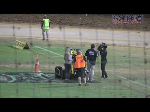 Some of the action from the meeting held at Western Springs Speedway on Sunday 05 January 2020 which included the Midget 50 Lap Derby - dirt track racing video image