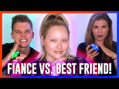 "WHO KNOWS ME BETTER""! Fiance vs. Best Friend! | NikkieTutorials"