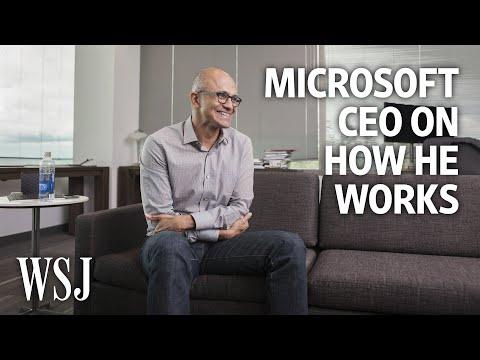 Microsoft CEO Satya Nadella: How I Work - UCK7tptUDHh-RYDsdxO1-5QQ