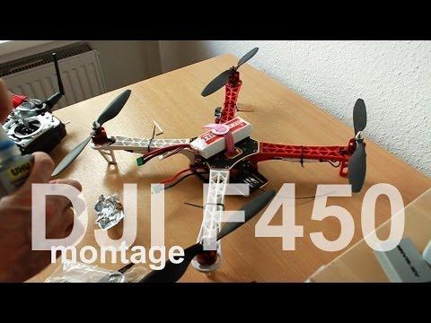 Quadrokopter DJI NAZA F450 ARF montage ohne PC Setup - UCNWVhopT5VjgRdDspxW2IYQ