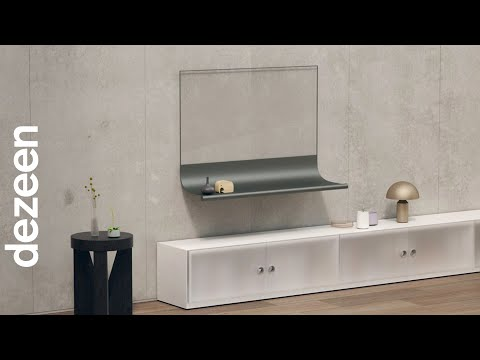 Scroll wins Dezeen and LG Display's OLEDs Go! competition   Dezeen