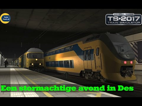 Een stormachtige avond in Des Hollands | Ns Virm | Train Simulator 2017